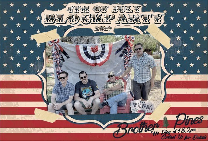 4th of july blugrass band show
