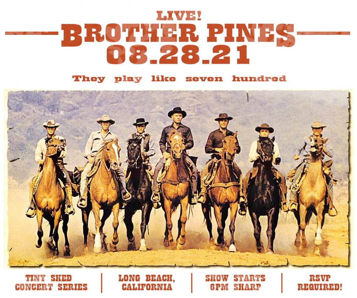 brother pines band bluegrass music long beach
